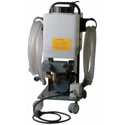 Wasserbehandlung und Analyse Pumpe zum Entschlammen für Fußbodenheizung - DIFF