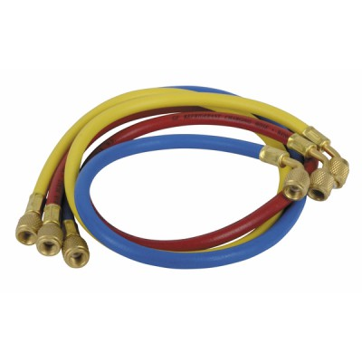 Set of 3 hoses (red, yellow, blue) - GALAXAIR : CT-336-RYB