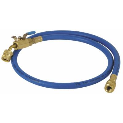 "Flexible bleu longueur 0,90m Ø1/4"""