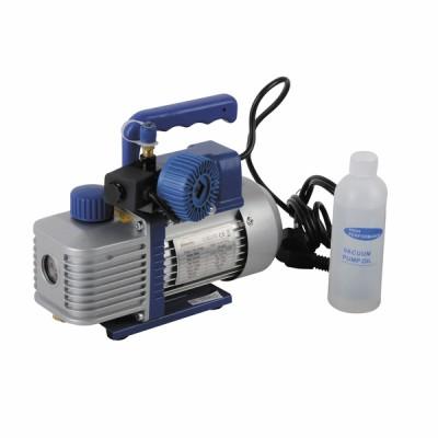 Werkzeug (Kältetechnik) Vakuumpumpe 2VP42 EV, 2 Stufen, inkl. Magnetventil und Vakuummeter - DIFF