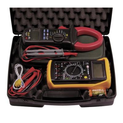 Koffer elektrische Messung Multimeter und Strommesser Zange - DIFF