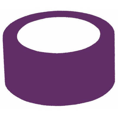 Nastro adesivo isolante PVC viola  - ADVANCE : 162185