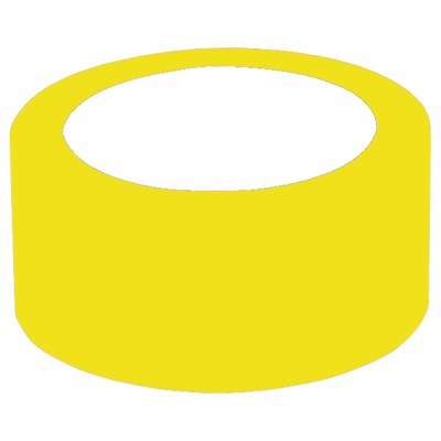 Pvc adhesive roll (50mmw33m) yellow  - DIFF