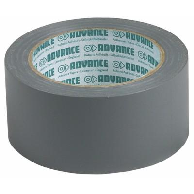 Rouleau PVC adhésif gris - DIFF