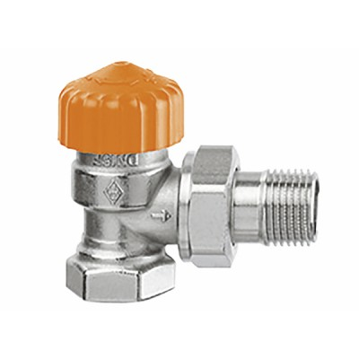 Thermostatic radiator valve body Eclipse angle DN15 1/2 - IMI HYDRONIC : 3461-02.000