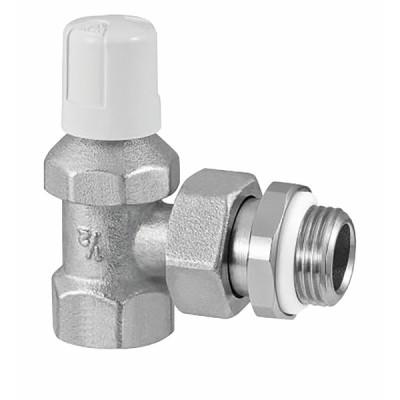 Angle radiator valve 3/8 RFS (built-in seal on connector) - RBM : 90300
