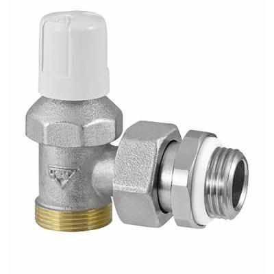 Angle radiator valve male 3/8 RFS (built-in seal on connector) - RBM : 290300