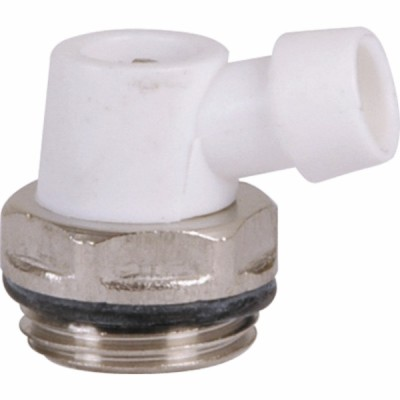 Plastic purge valve