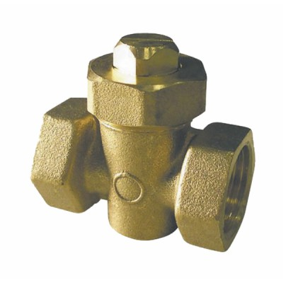 Ball valve FF in 3/8 - DIFF