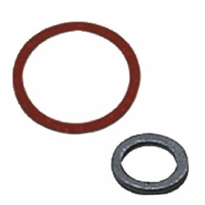 Flat gasket 20 x 27 epdm black (X 100)