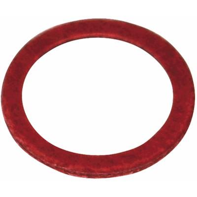 """Junta de fibra roja 20/27 - 3/4""""  (X 50) - DIFF"""