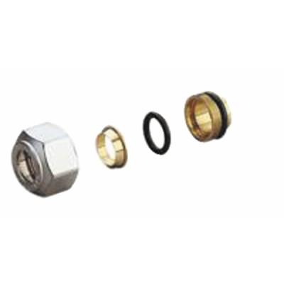 Adaptateur tube cuivre R178 18 x 16 - GIACOMINI : R178X035