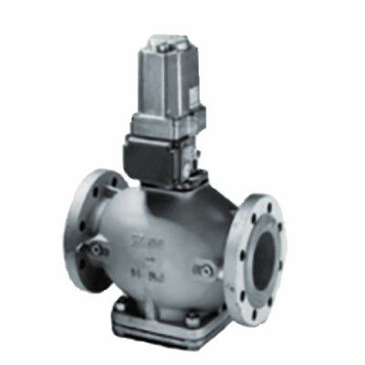 Flanged gas valve DN100 with limit switch - JOHNSON CONTR.E : GH-5729-5610