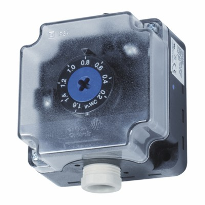 Differential pressure switch for air 1.4 to 10 mbar - JOHNSON CONTR.E : P233A-10-PHC
