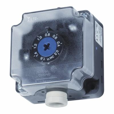 Pressostato Differenziale aria da 1,4 a 10 mbar - JOHNSON CONTR.E : P233A-10-PHC