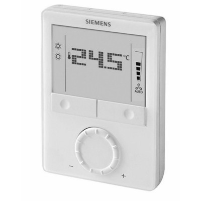Communicating room thermostat, AC 230 V - SIEMENS : RDG100KN