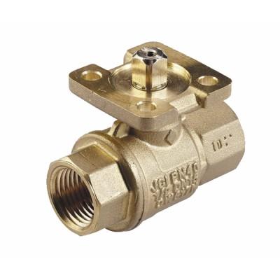 Threaded 2-way ball valve PN40 - JOHNSON CONTR.E : VG1205FS