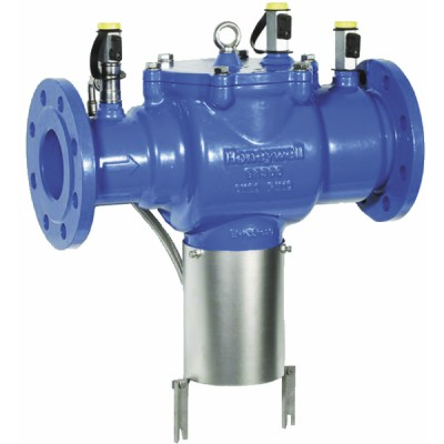 Controllable flanged backflow preventer reduced pressure zone BA 65 - HONEYWELL : BA300-65A