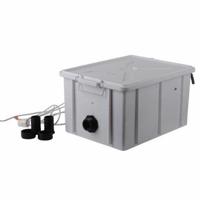 Neutral box man con pompa
