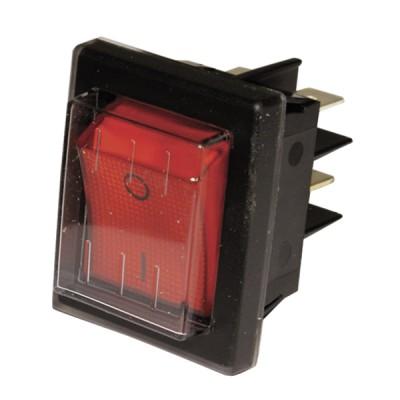 Schalter Modell für ZH rot dicht  - ZAEGEL HELD: A814398