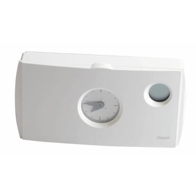Termostato ambiente programmabile 56572 230V - HAGER : 56572