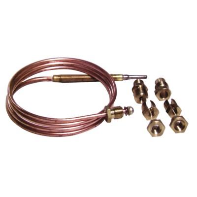 """Thermoelement Thermoelement 6 Anschlüsse Lg. 900mm x 10p (M8 - M9 - M10 - 11/32"""" - F6 - Druckbelastung) (X 10)"""