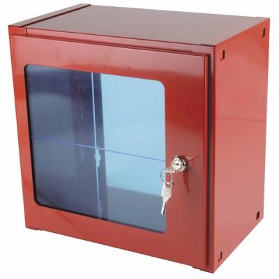 Scatola con vetro fisso 450mm x 450mm x 250mm - DIFF