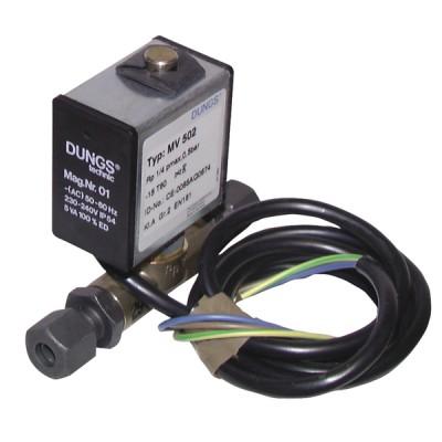 Électrovanne gaz MV502 raccord olive 8mm - DUNGS : 218973