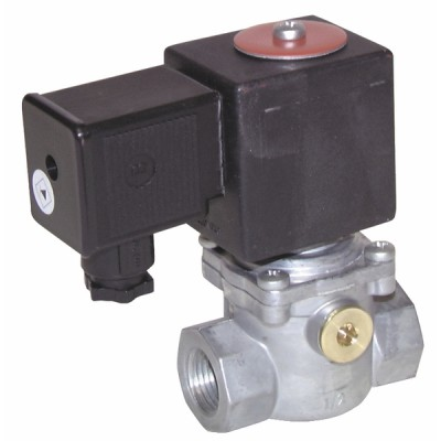 "Électrovanne gaz FF1"" MADAS basse pression 230Vac NF - MADAS : EVP04 008"