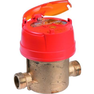 Compteur divisionnaire eau chaude AQUADIS - ITRON : AQP15110WBR160ET