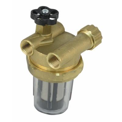"Filtre fioul recyclage avec robinet FF3/8"" - DIFF"