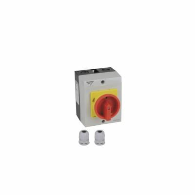 Interrupteur de proximité 4P 40A - DIFF