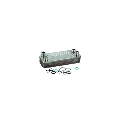 Heat exchanger 12 plates - DIFF for Vaillant : 0020073795
