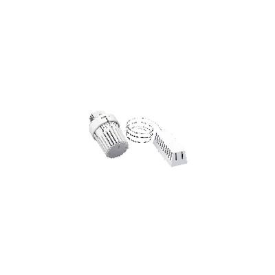 Thermostatic head Uni LH with remote sensor M30 1.5 white  - OVENTROP : 1011665