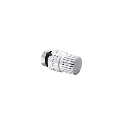 Thermostatic heads Vindo TH white M30 1.5 (X 10) - OVENTROP : 1013066