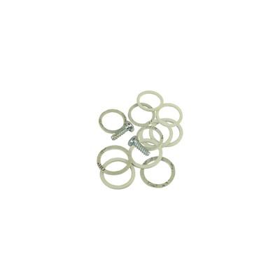 Sacchetto guarnizioni per piastra - DIFF per Saunier Duval : S1036200