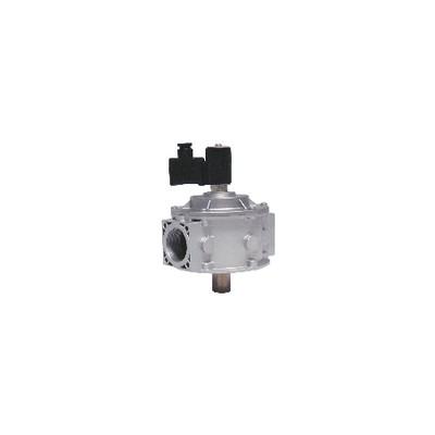 """Électrovanne gaz M16 RM NF 500mb F2"""" 230Vac - MADAS : CM07C 008"""