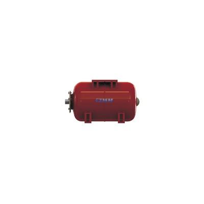 Horizontal interchangeable membrane pressure tank  - CIMM : 532402