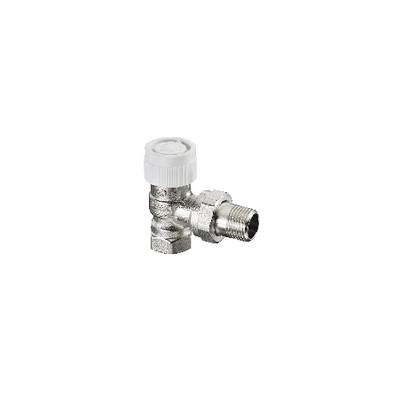 presetting thermostatic radiator valve bodies angle AV9 DN20 (X 25) - OVENTROP : 1183706