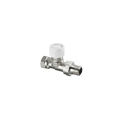 presetting thermostatic radiator valve bodies straight AV9 DN10 (X 25) - OVENTROP : 1183803