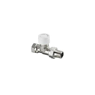 presetting thermostatic radiator valve bodies straight AV9 DN15 (X 25) - OVENTROP : 1183804