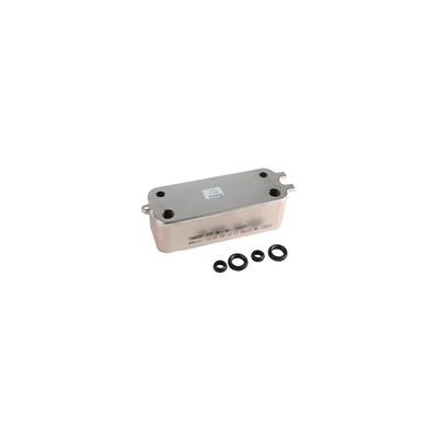 Intercambiador 24 placas - DIFF para ELM Leblanc : 87167723990
