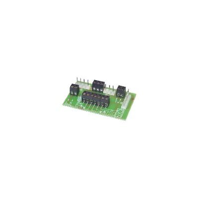 Circuit imprimé connexion GL93-94 - DIFF pour Frisquet : F3AA40652