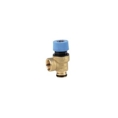 Sicherheitsventil (Warmwasser) - DIFF für Unical: 04168Z