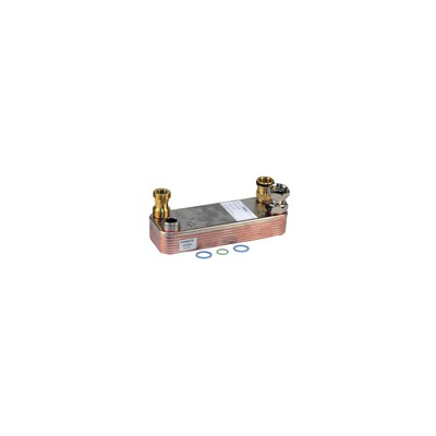 Domestic hot water exchanger - DIFF for Vaillant : 064950
