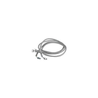 Flexible fioul longueur 1.60m  (X 2) - DIFF pour De Dietrich : 97956100