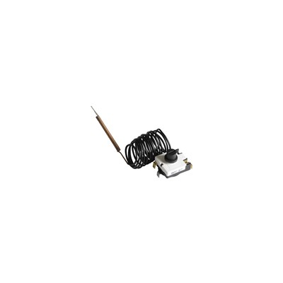 Thermostat sécurité limiteur 100°C - capillaire 1,5m - DIFF pour Bosch : 87168419890