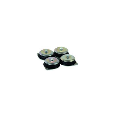 Industriearmatur - Doppelflansch DN65 DIN