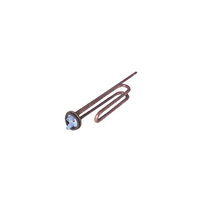 Immersion heater with flange Ø 48mm - DIFF for Chaffoteaux : 65407081