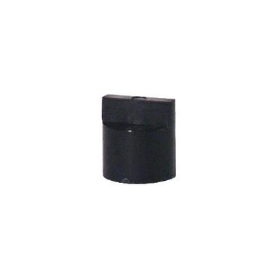 Kit of direct couplings diffpratic black (X 6)